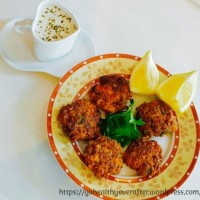 Crunchy fish patties with oats
