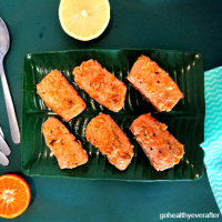 Orange butter Salmon